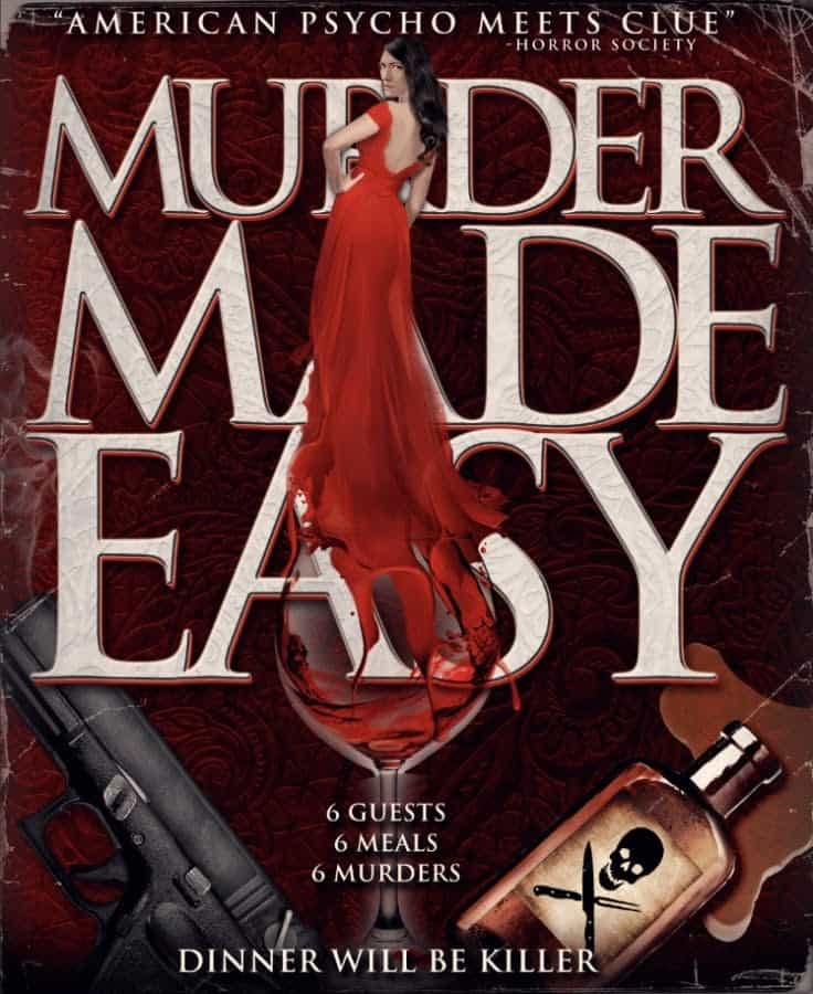 Murder Made Easy Poster - Trailer: Join the Blood-Soaked Party with MURDER MADE EASY, Now on Digital/VOD