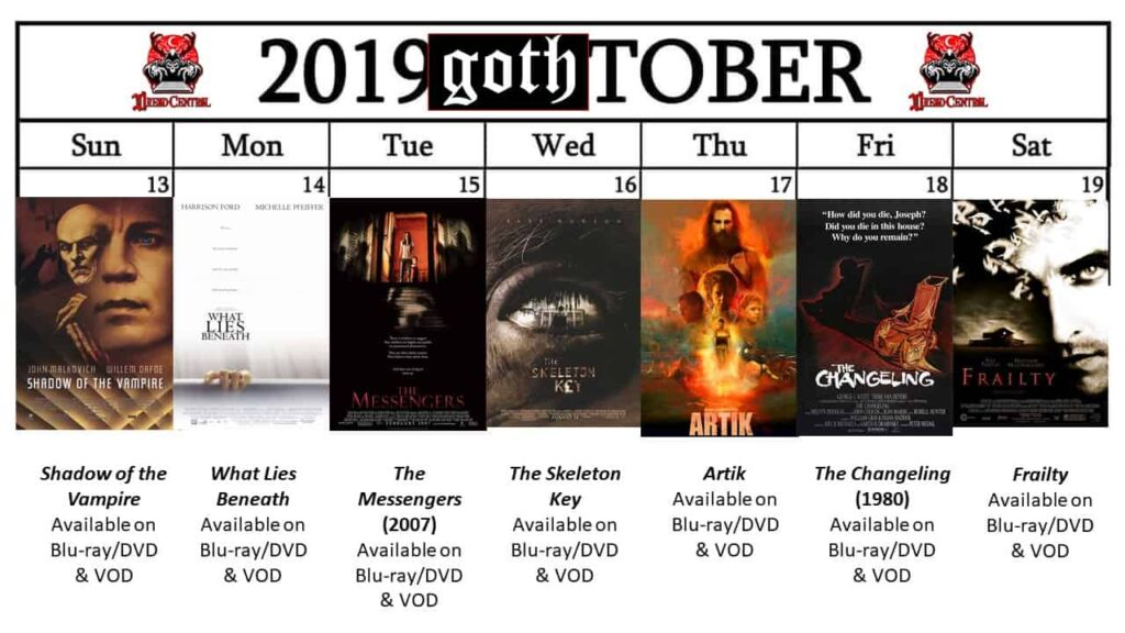 October 2019 Week 3 1024x576 - GOTH-TOBER: A Gothic-Themed #MonthOfDread
