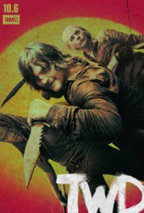 TWD S10 Poster 203x300 - Looper Video is a Perfect Primer for THE WALKING DEAD Season 10