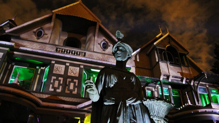 """Winchester Unhinged 15 750x422 - Winchester Mystery House Launching New Outdoor Evening Experience """"Walk With Spirits Tour"""""""