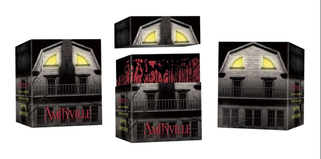 amityvillecursedcollectionboxset 1024x509 - Liberação da síndrome do vinagre AMITYVILLE: THE CURSED COLLECTION Boxset With Four Titles