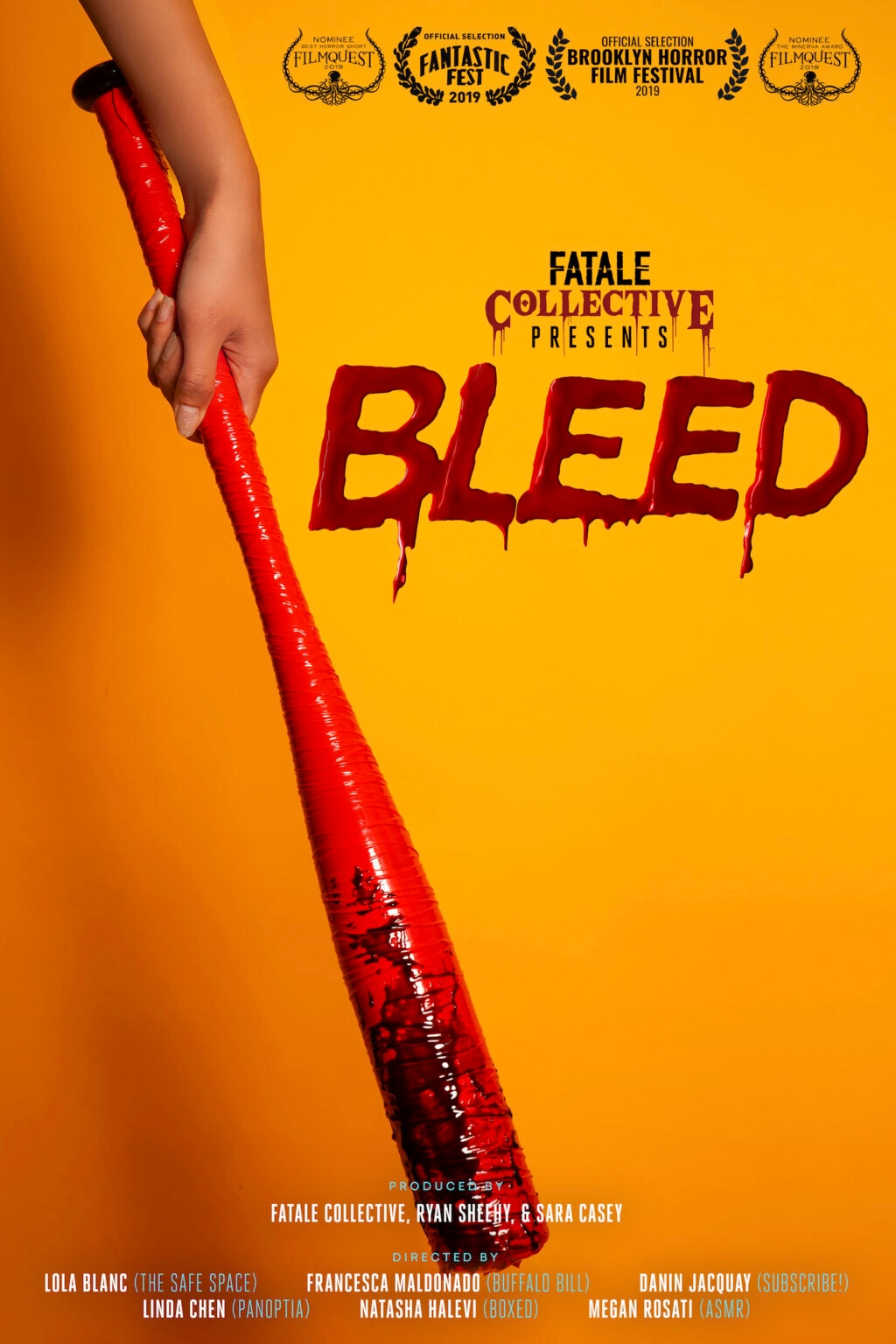bleed Buffalo Bill 1024x1536 - Fantastic Fest 2019 Exclusive: Character Posters For Shorts Anthology BLEED