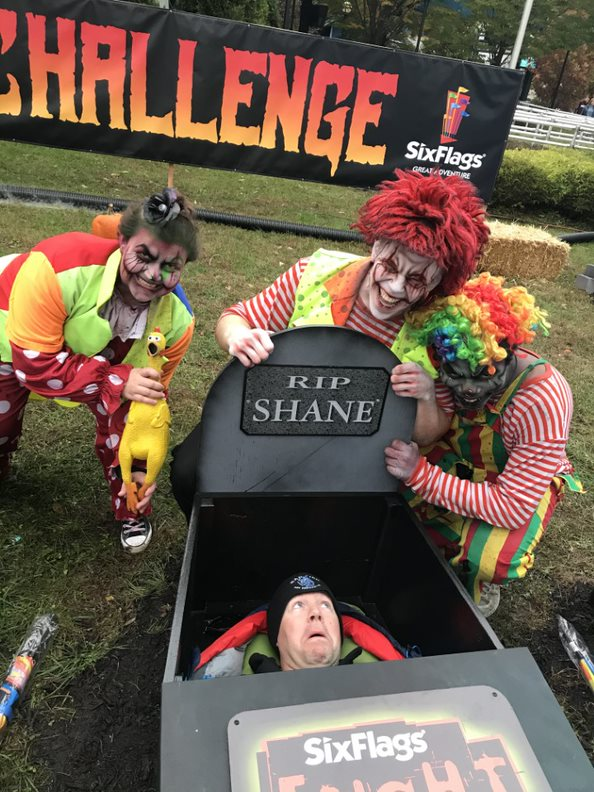 coffin challenge - Six Flags Dares You to Spend 30 Hours in a Coffin--For Prizes!