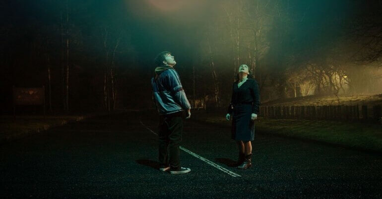 dark encounter film image - FrightFest 2019: DARK ENCOUNTER Review - An Alien Home Invasion Thriller   With A Very Human Element
