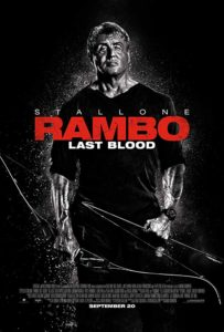 """rambo last blood poster 203x300 - """"Rambo's Greatest Hits"""" is Hysterical Trailer for LAST BLOOD"""