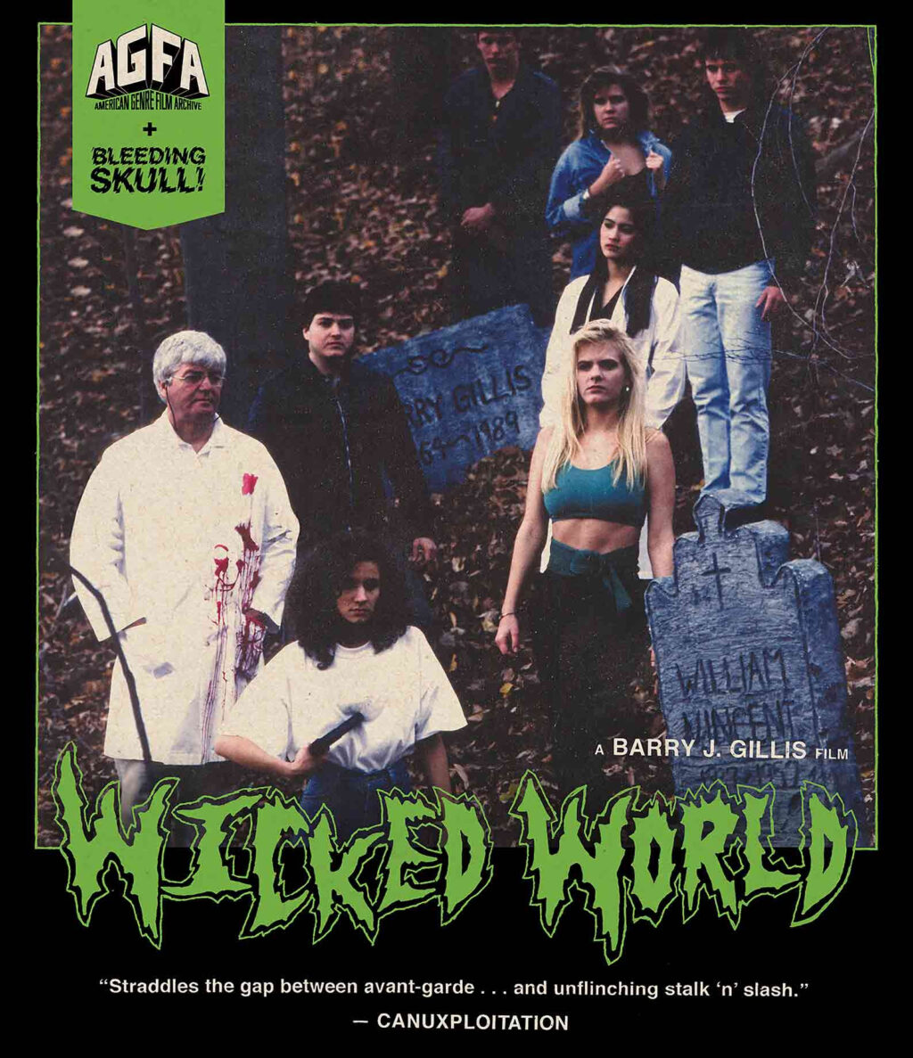 wickedworldcover 1024x1187 - AGFA To Release Virtually Unknown Canadian Horror Film WICKED WORLD