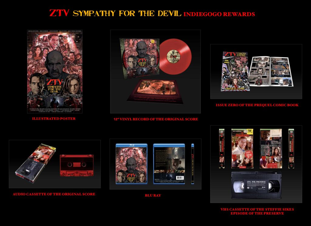 Short Film ZTV SYMPATHY FOR THE DEVIL Launches Crowdfunding Campaign: Exclusive Hand Drawn Poster Revealed - Dread Central