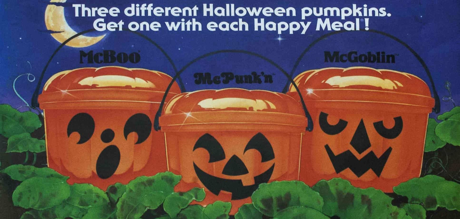 Mcdonalds Halloween 2020 Kid Meals 2020 A Brief History of McDonald's Halloween Buckets | Dread Central
