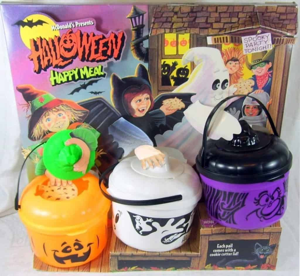 2020 Mcdonalds Halloween Buckets A Brief History of McDonald's Halloween Buckets
