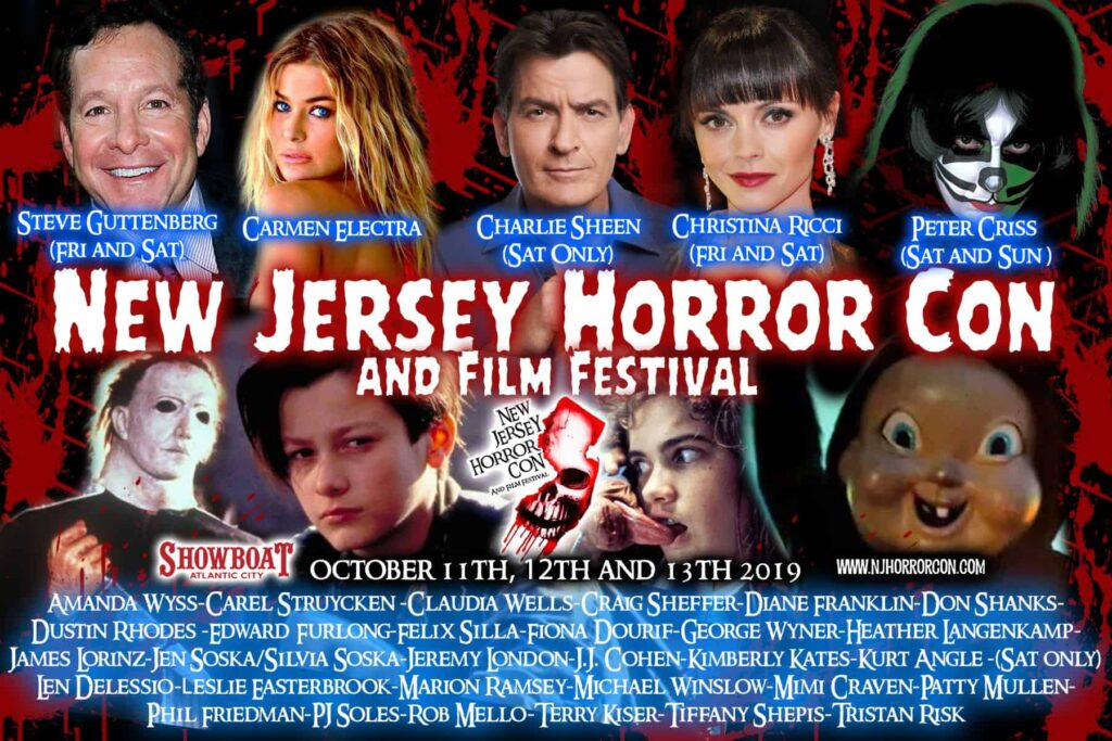 NEW JERSEY HORROR CON & FILM FESTIVAL Rounds Out Celebrity Guests with Christina Ricci & Peter Criss from KISS - Dread Central