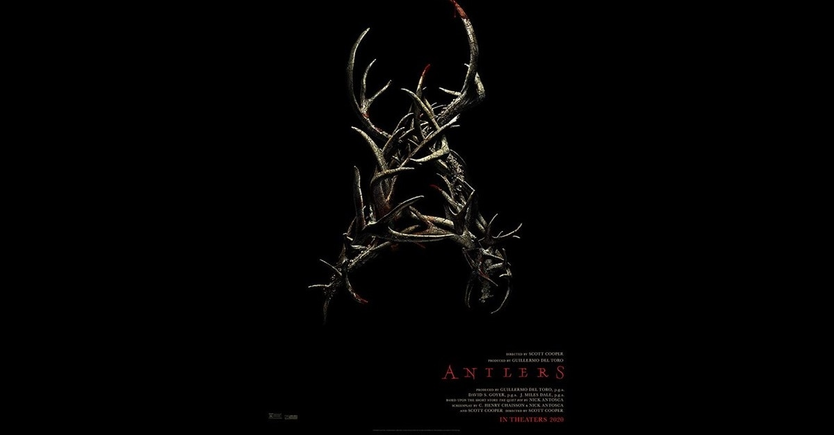 "Antlers Banner - Boy Feeds His ""Pet"" Monster in Creepy AF Trailer for ANTLERS, Produced by Guillermo del Toro"