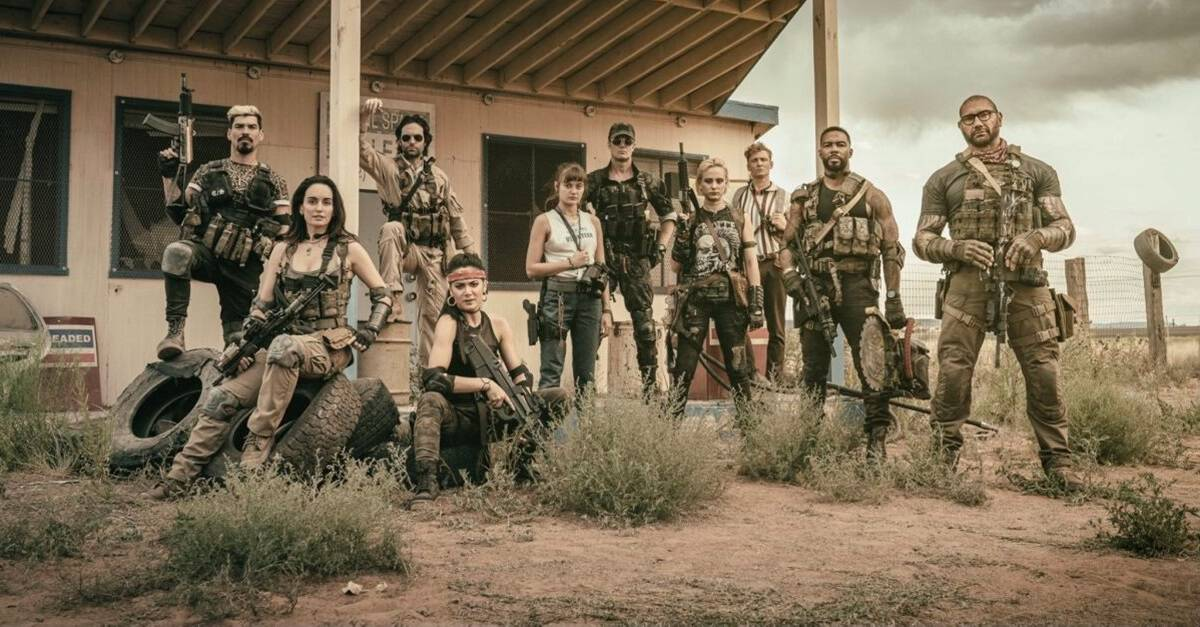 Army of the Dead banner - Zack Snyder Reveals Plot Details & Release Date for Army of the Dead