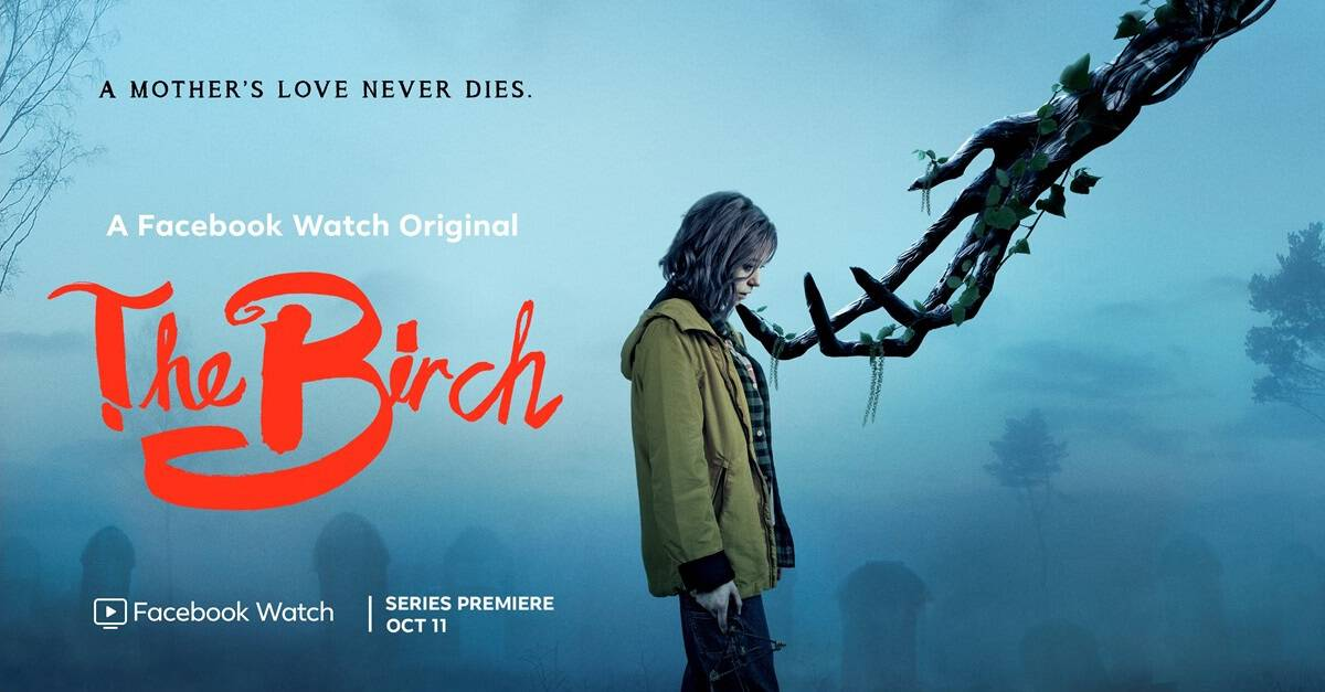Birch Banner - THE BIRCH is the New Protector of the Vulnerable--Or is She? Crypt TV Series Launches Oct. 11th