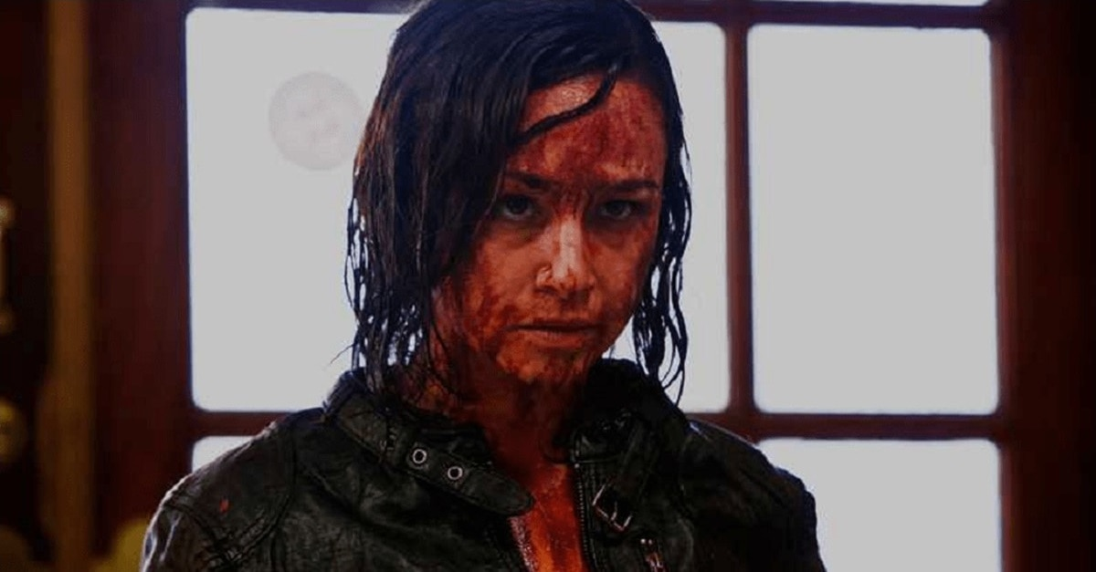 Danielle Harris Hatchet Banner - Danielle Harris Says There Will Be 2 More HATCHET Movies