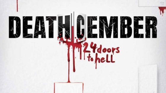 Deathcember Banner 560x315 - Teaser + Exclusive Image Gallery for Holiday Horror Anthology DEATHCEMBER