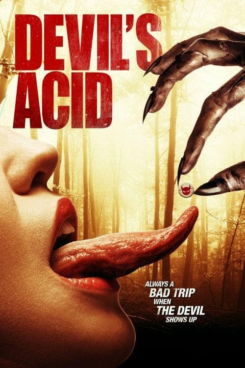 Devils Acid Poster - Trailer: Drop Some DEVIL'S ACID and Smoke Up with Satan This November