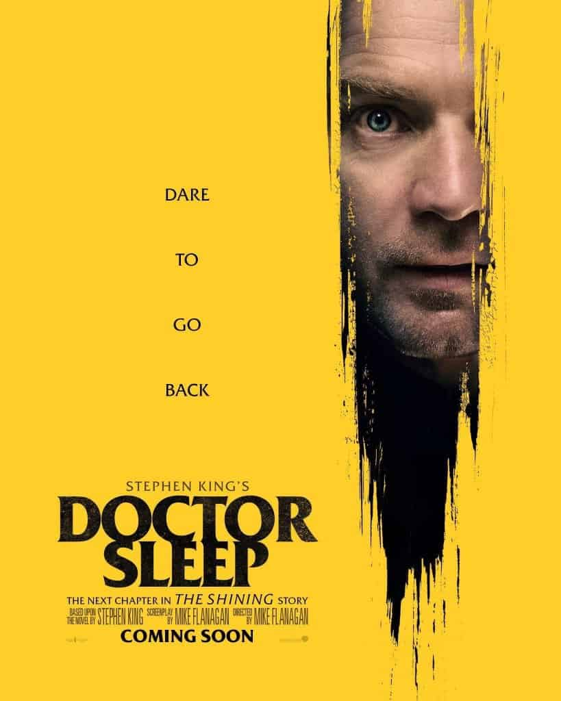 Doctor Sleep Poster 2 - 2 New DOCTOR SLEEP Posters Show Adult Danny Torrance Back at The Overlook Hotel