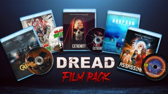 Dread film pack banner 560x315 - CONTEST: Win 5 of DREAD's Most Popular Blu-rays!