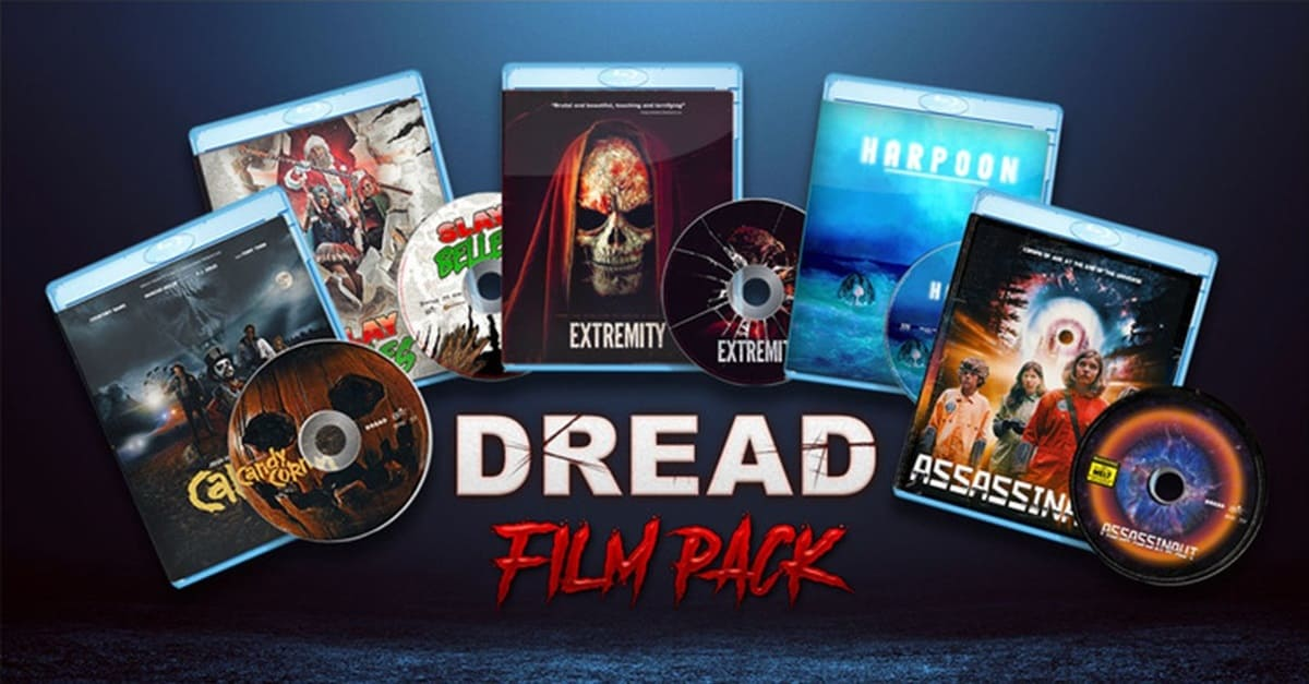 Dread film pack banner - CONTEST: Win 5 of DREAD's Most Popular Blu-rays!