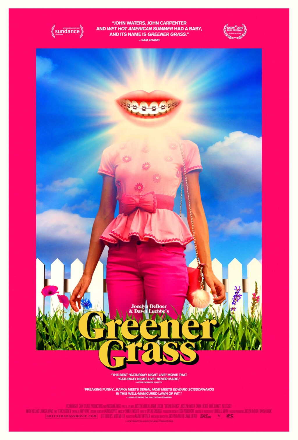 Greener Grass Poster 1024x1512 - Check Out Our WTF Exclusive Clip from Suburban Horror GREENER GRASS