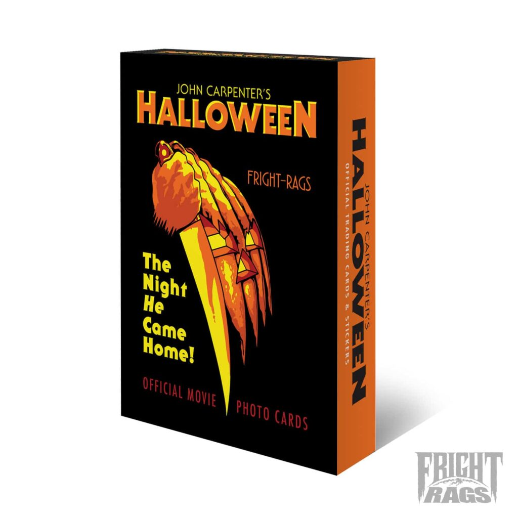 Halloween WaxPack FactoryBox PROOF 1024x1024 - Officially Licensed HALLOWEEN Trading Card Available Now for First Time Ever!