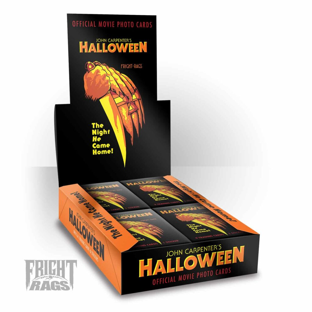 Halloween WaxPack SealedBox PROOF 1024x1024 - Officially Licensed HALLOWEEN Trading Card Available Now for First Time Ever!