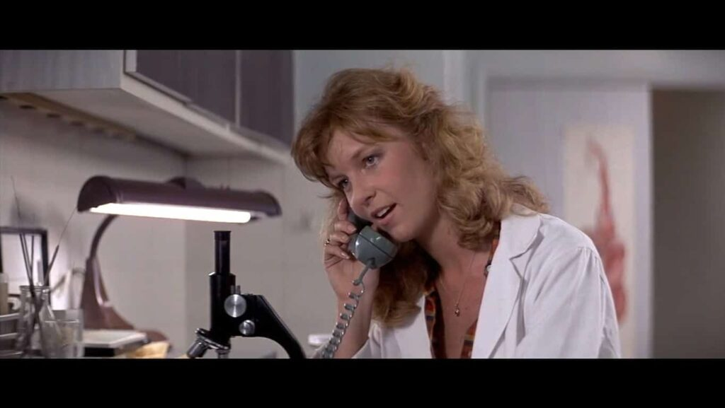 HalloweenIIIWendyWessberg 1024x577 - Exclusive: HALLOWEEN III's Wendy Wessberg Recalls Drill to the Head!