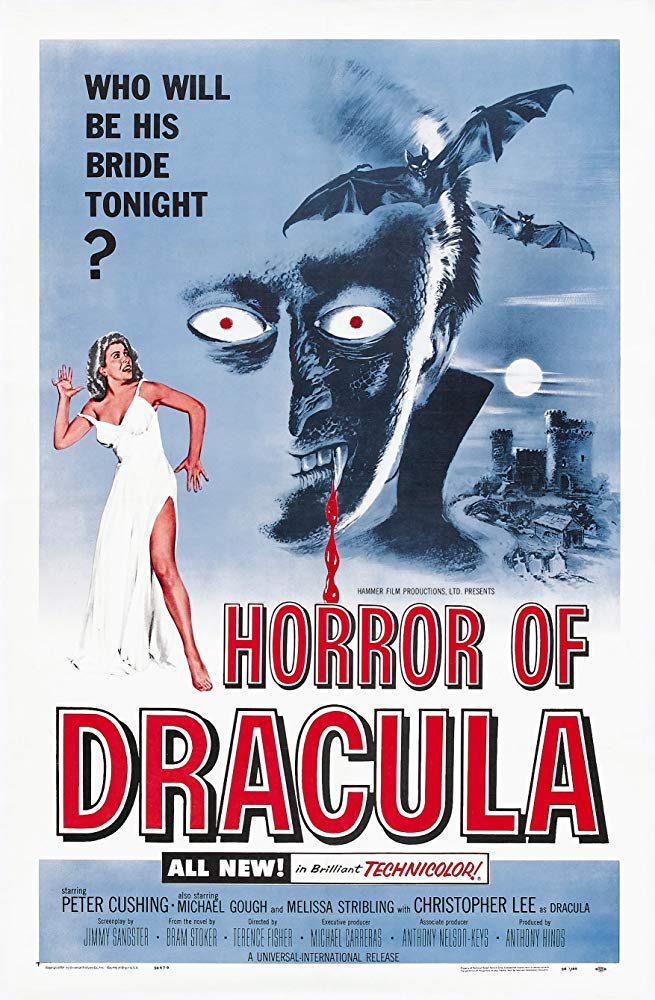 Horror of Dracula Poster - John Carpenter Has Some Halloween Movie Recommendations for You