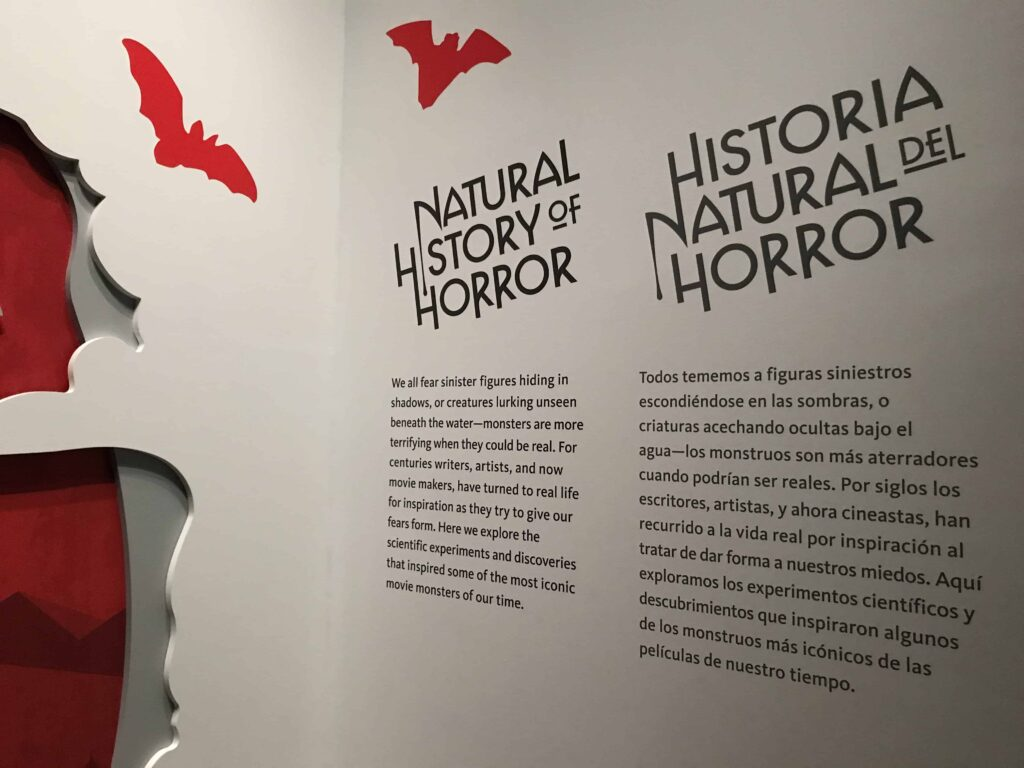 IMG 2882 1024x768 - Exclusive Video & Photos: Natural History of Horror Exhibit Opens