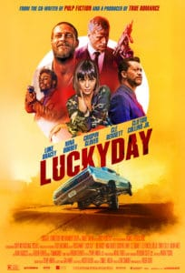 Lucky Day Poster 204x300 - Red Band Trailer: Crispin Glover is an Unhinged Hitman in LUCKY DAY