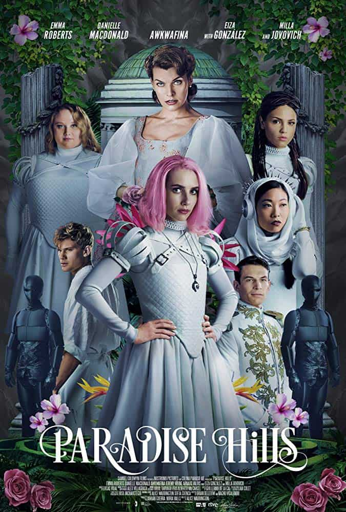 Paradise Hills Poster - Trailer: Sci-fi, Fantasy & Horror Collide in PARADISE HILLS Starring Emma Roberts