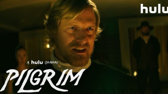 Pilgrim Banner 560x315 - Trailer: PILGRIM, Next INTO THE DARK Film from Blumhouse/Hulu, is Truly Terrifying Thanksgiving Horror