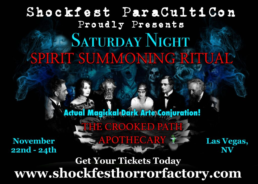 SHOCKFEST spirit summoning ritual CORRECTED 1024x732 - John Zaffis & George Noory headlining SHOCKFEST FILM FESTIVAL at The Hotel Paranormal
