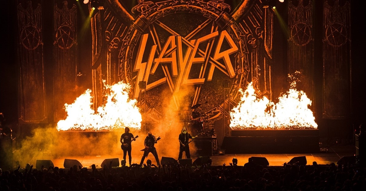 Slayer Banner - Trailer: Part Horror Movie, Part Concert Film, SLAYER: THE REPENTLESS KILLOGY to Screen 1 Night Only!