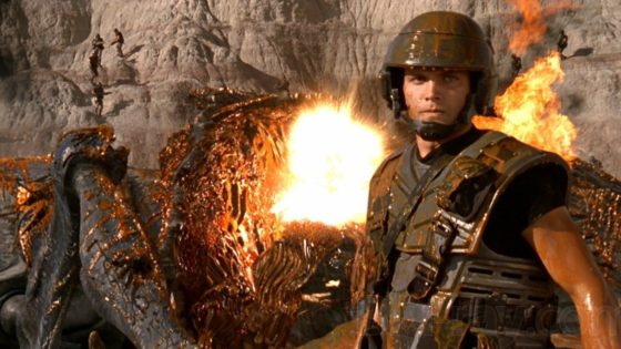 "Starship Troopers Banner 560x315 - DREAD X: DEATHCEMBER Director Florian Frerichs' Top 10 Horror Films ""Indiziert"" (Criminalized) in Germany"