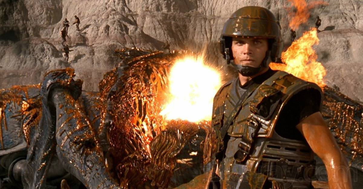 "Starship Troopers Banner - DREAD X: DEATHCEMBER Director Florian Frerichs' Top 10 Horror Films ""Indiziert"" (Criminalized) in Germany"