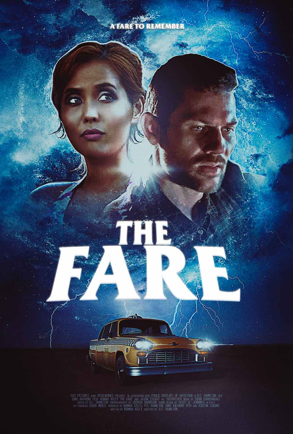 THE FARE POSTER - THE FARE Out Now From DREAD