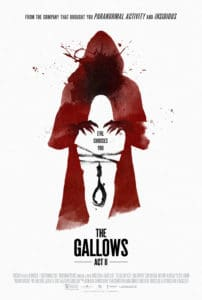 The Gallows Act II 202x300 - Dread Central to Host Free LA Screening of Blumhouse's THE GALLOWS ACT II on Oct 24