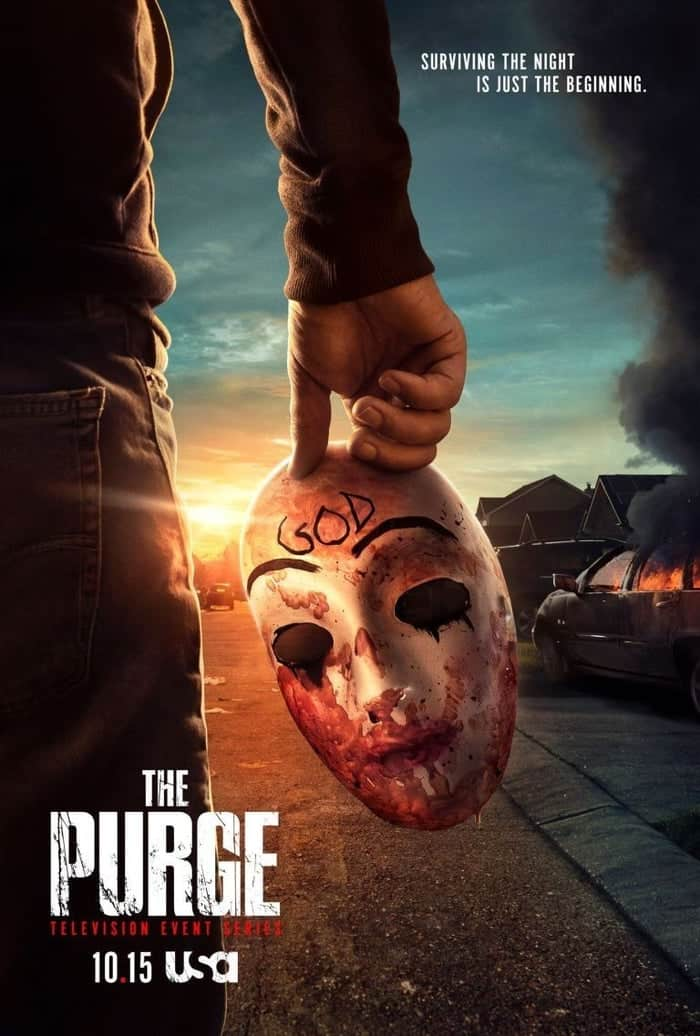 the purge season trailer poster usa network 1186761 - Exclusive Interview: Rochelle Aytes Talks Voyuristic Violence in THE PURGE Season 2