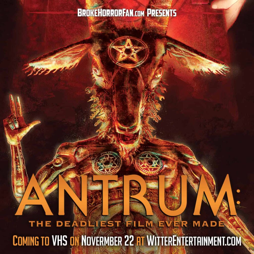 """Antrum VHS 1024x1024 - You'll Be Able to Get ANTRUM """"The Deadliest Film Ever Made"""" on Limited Edition VHS"""