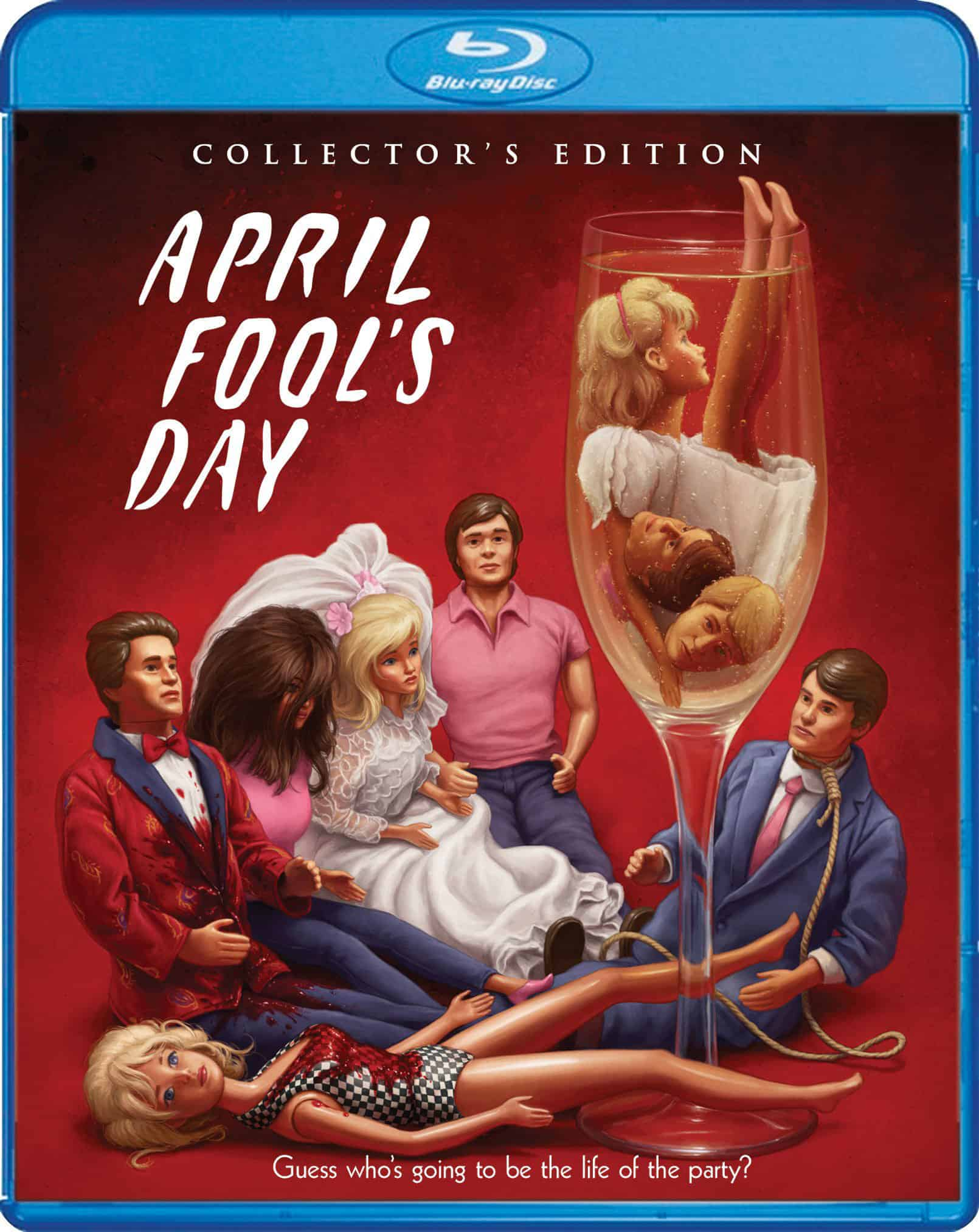 April Fools Day Bluray DC - Scream Factory Reveals APRIL FOOL'S DAY Collectors Edition Details