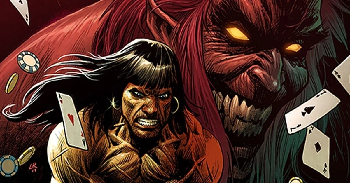Conan Battle for the Serpent Crown image 1 - Conan The Barbarian Heads To Las Vegas In Marvel's Upcoming Miniseries CONAN: BATTLE FOR THE SERPENT CROWN