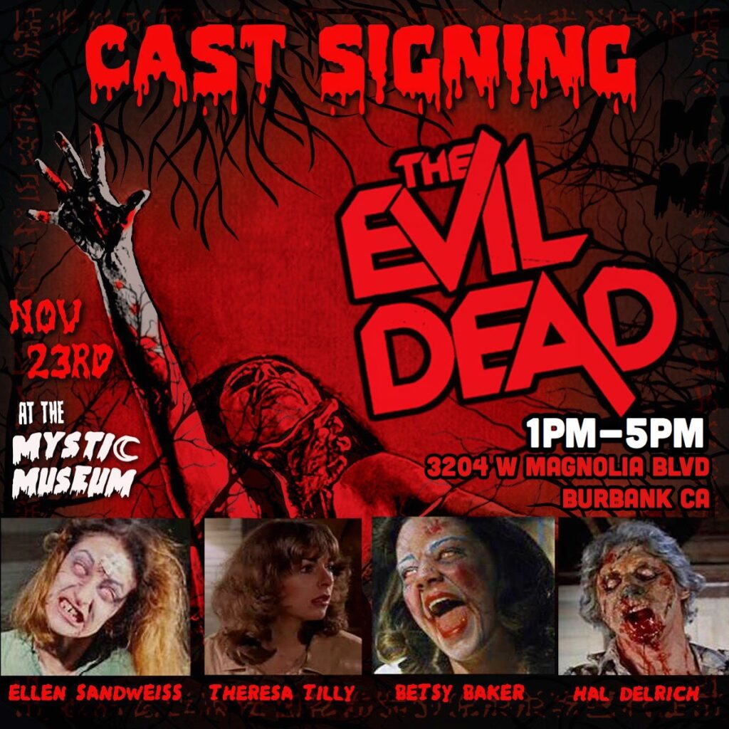 Evil Dead Signing 1 1024x1024 - LA Horror Fans: Meet the Cast of EVIL DEAD This Saturday!