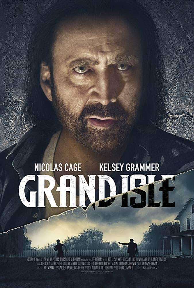 Grand Isle Poster - Exclusive Clip: Mysteries Reveal Themselves in GRAND ISLE Starring Nic Cage & Kelsey Grammer