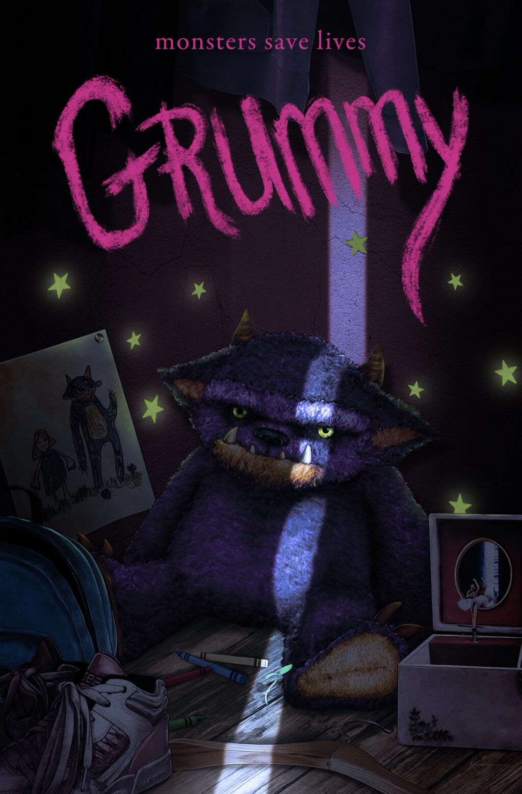 Grummy web 1024x1555 - THE HAUNTING OF HILL HOUSE Star Violet McGraw Joins Buzzed-About Fantasy Film GRUMMY
