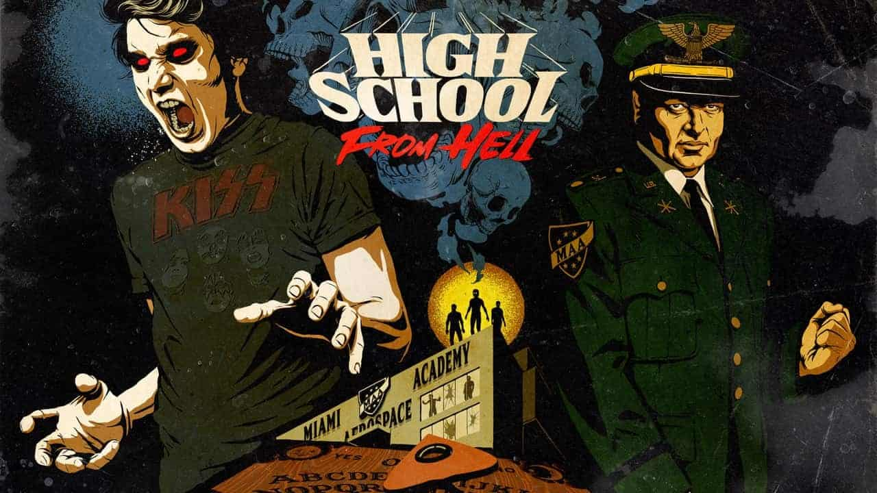 "High School From Hell - HYSTERIA HIGH (a.k.a the ""High School from Hell"") is a Genre-Bending Combination of Horror & True Crime"