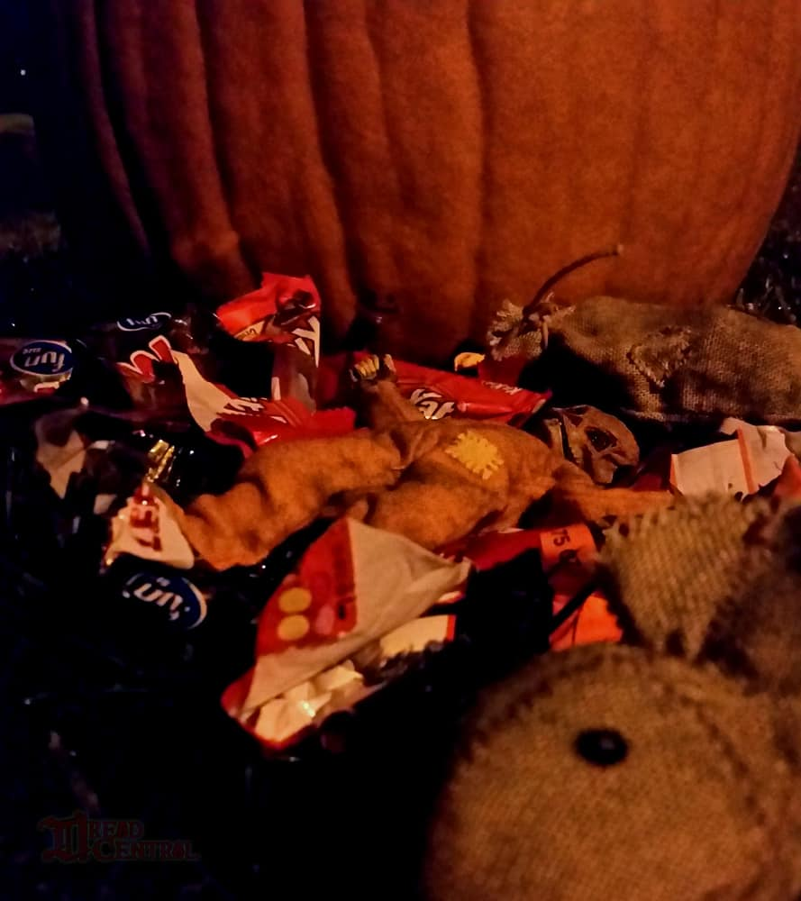 NECA Trick R Treat Sam Clothed Action Figure 006 - TRICK 'R TREAT's Sam Has a Busy Night!