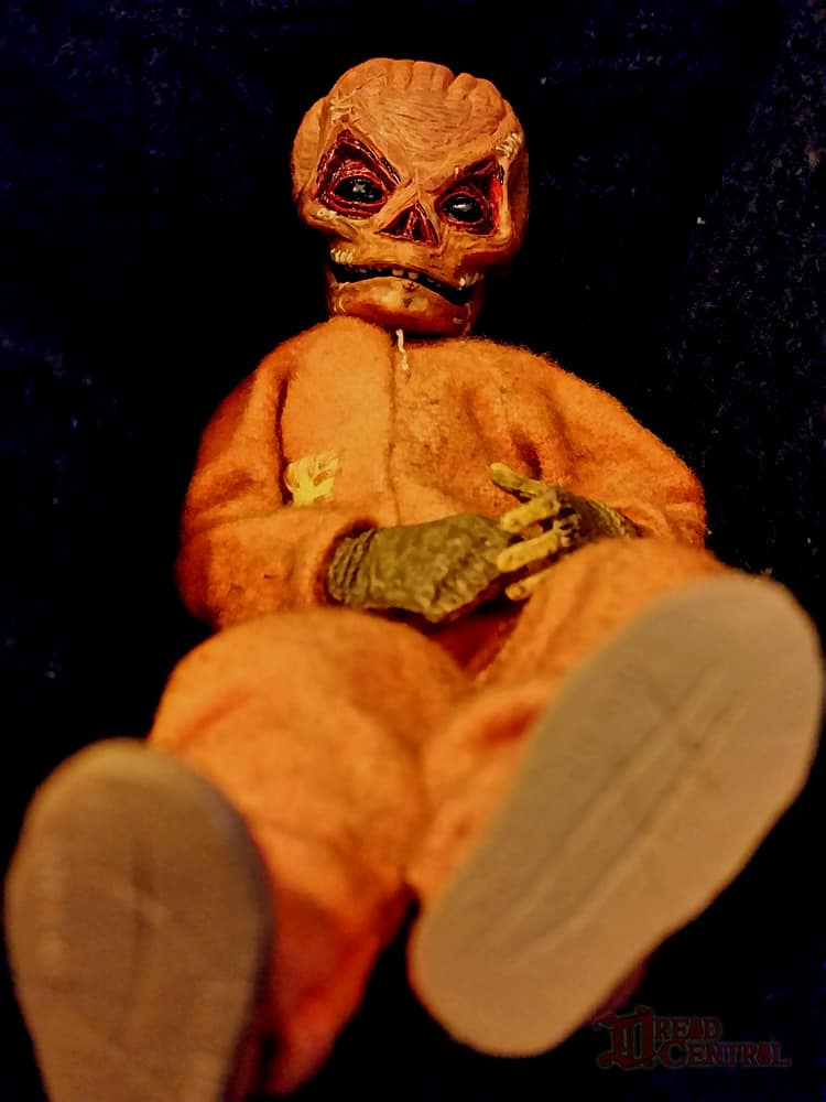 NECA Trick R Treat Sam Clothed Action Figure 008 - TRICK 'R TREAT's Sam Has a Busy Night!