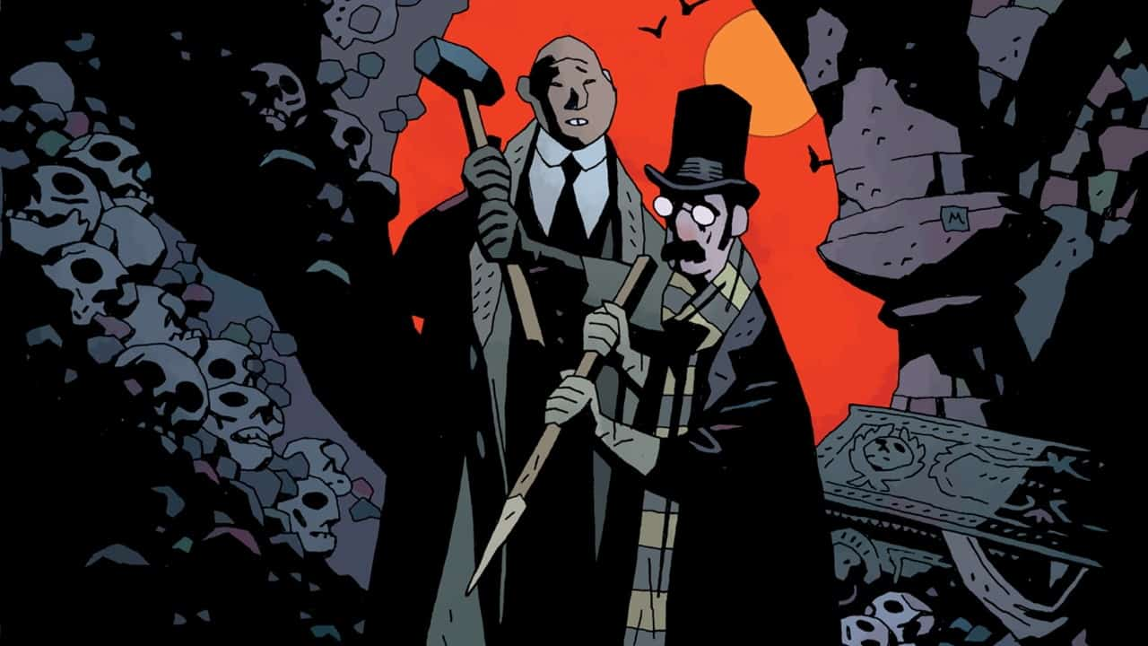 Our Encounters with Evil Banner - Exclusive Preview of OUR ENCOUNTERS WITH EVIL by Mike Mignola & Warwick Johnson-Cadwell