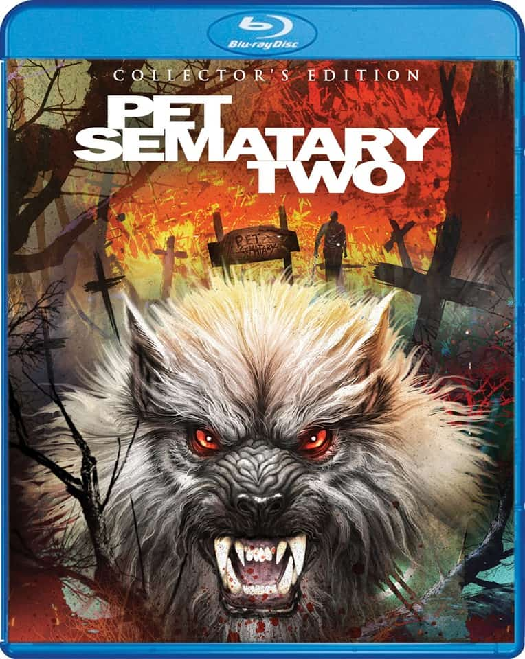 PET SEMATARY TWO bluray - Scream Factory's PET SEMATARY TWO Collector's Edition Blu-ray Hits in February 2020